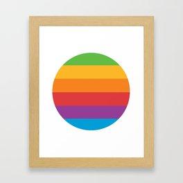 Superfuture Original 6-Color Pride Framed Art Print