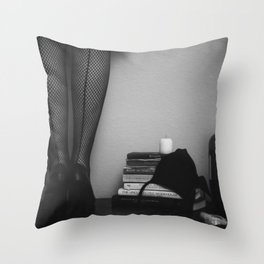 inspired evening Throw Pillow