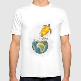 Climate changes the nature T-shirt