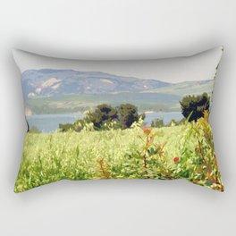 Italy: Matera - Riserva di San Giuliano Rectangular Pillow