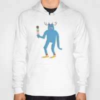 sasquatch Hoodies featuring sasquatch by Thom BRANSDON Illustration