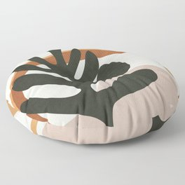 Abstract Plant Life I Floor Pillow