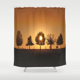 Beautiful Nature Panorama Shower Curtain