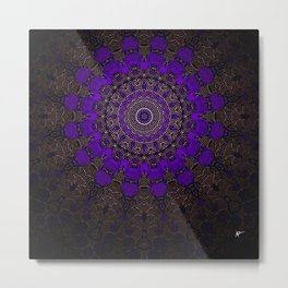 Purple Infinity Metal Print