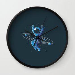 Space Hula Hoop Wall Clock