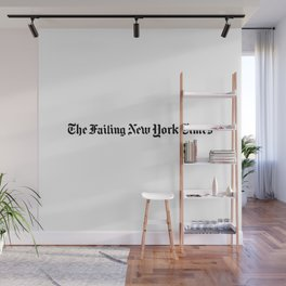 The Failing New York Times Wall Mural