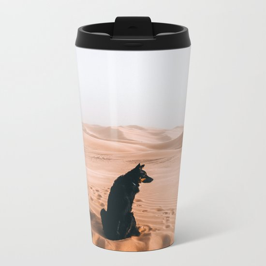 Find your way back home | Imperial Sand Dunes, California Metal Travel Mug