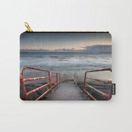 Aberavon beach handrail Carry-All Pouch