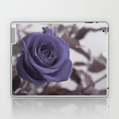 a blue rose for a blue day Laptop & iPad Skin