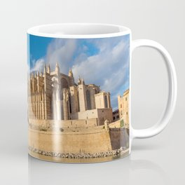 Cathedral of Palma de Mallorca Golden hour Timelapse Coffee Mug