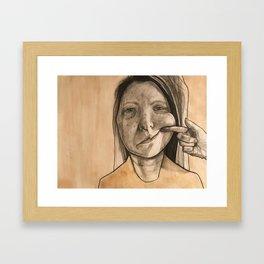 Smile! Framed Art Print