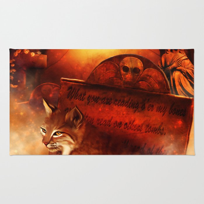 Bobcat Spirit Rug