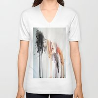 the cure V-neck T-shirts featuring infect me,cure me. by SereArt