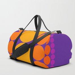 Purple Dots Duffle Bag
