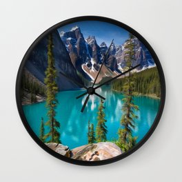 Clear Lake Wall Clock