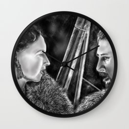"""""""What we do in this life, Echoes in eternity"""" Wall Clock"""