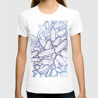 crystals T-shirts featuring Crystals by fossilized