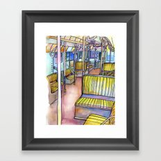 Love NYC's everything No.4 Framed Art Print