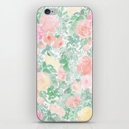 Springy Florals iPhone Skin