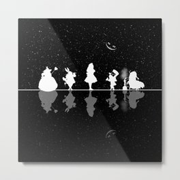 Wonderland Starry Night Metal Print