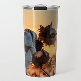 Cotton Field 12 Travel Mug