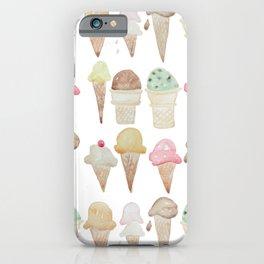 Ice Cream Paint Job iPhone Case
