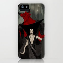 The Solace of Shadows iPhone Case