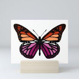 Lesbian Pride Butterfly Mini Art Print