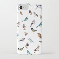 I love birds iPhone 7 Slim Case