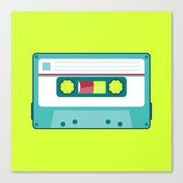 #54 Cassette Canvas Print