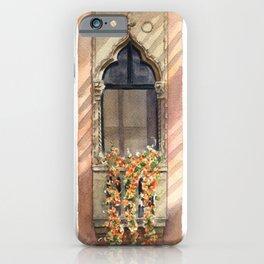 Isabella Stewart Gardner Museum - Hanging Nasturtiums iPhone Case