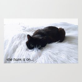 The hunt is on Rug