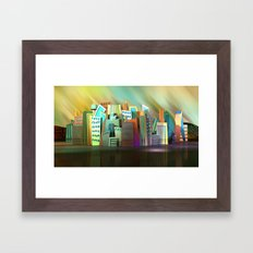 City of Color Framed Art Print