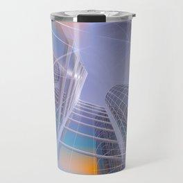 look into the sky -2- Travel Mug