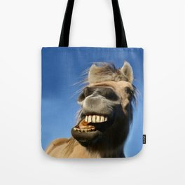 Happy Horse Photography Print Tote Bag