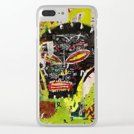 Kaos Heads Clear iPhone Case