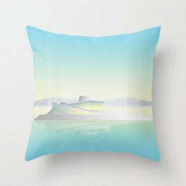 Oslo Opera House Throw Pillow