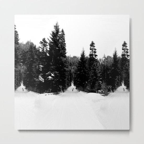 Frozen InDecision Metal Print
