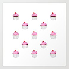 Cupcake Eye Candy Art Print