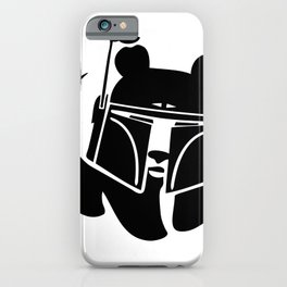 Pandalorian iPhone Case