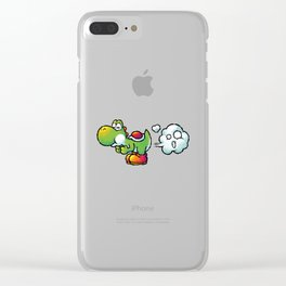 Yoshi Fart Super Clear iPhone Case