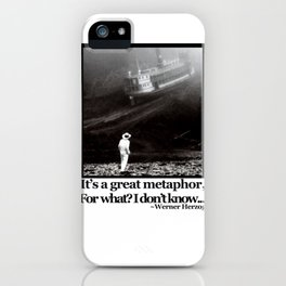 Fitzcarraldo Quote iPhone Case