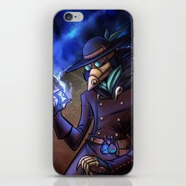 Steampunk Time Traveller iPhone Skin