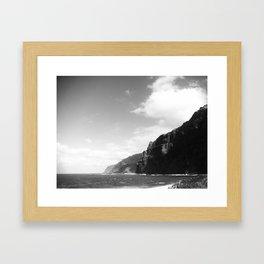 Vint B&W –Madeira Framed Art Print