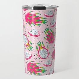 Dragon fruit pink Travel Mug