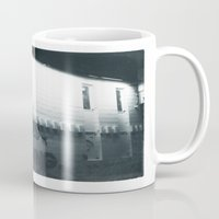 graffiti Mugs featuring Graffiti by Joseph Harmon