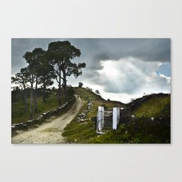 gate to heaven Canvas Print