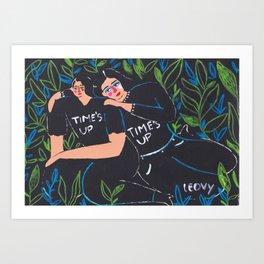 time´s up Art Print