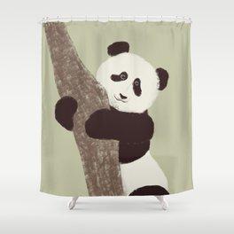 Lil panda Shower Curtain