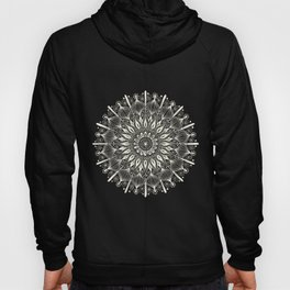 Vintage Mandala on Gold Hoody